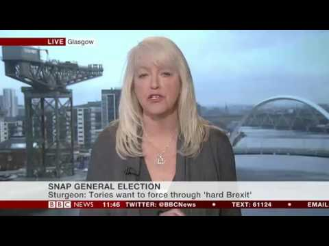 Lesley Riddoch on BBC News 24