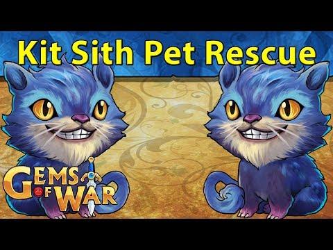 Gems Of War: Kit Sith Pet Rescue | Budget Mang Team
