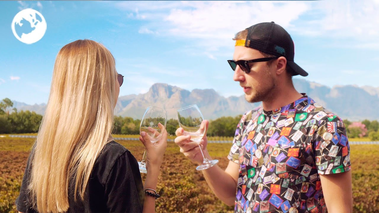Дегустируем вино ЮАР и гуляем по виноградникам | Исторические винодельни Franschhoek | Кейптаун