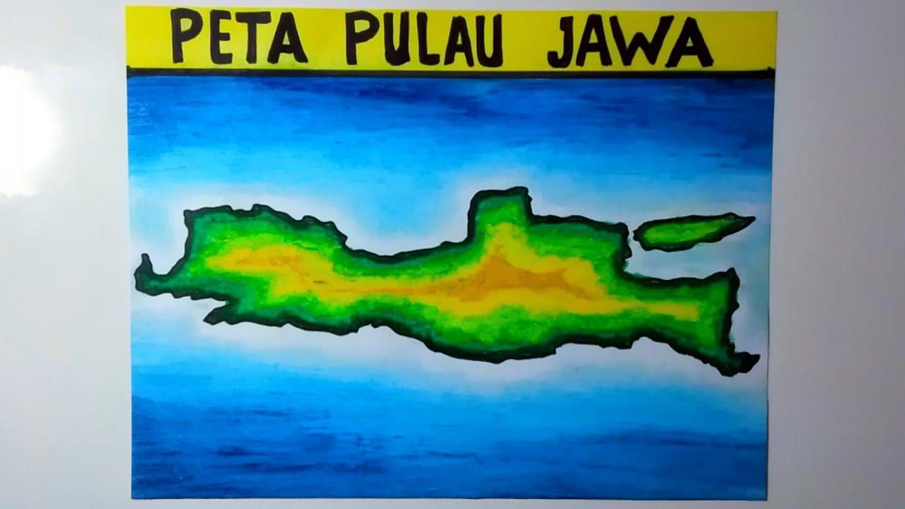 Untuk itu dengan adanya kumpulan gambar peta ini bisa menjadi perantara untuk anda yang ingin mengetahui lebih tentang peta daerah di luar anda, khususnya daerah indonesia. Gambar Peta Pulau Jawa Peta Pulau Jawa Youtube