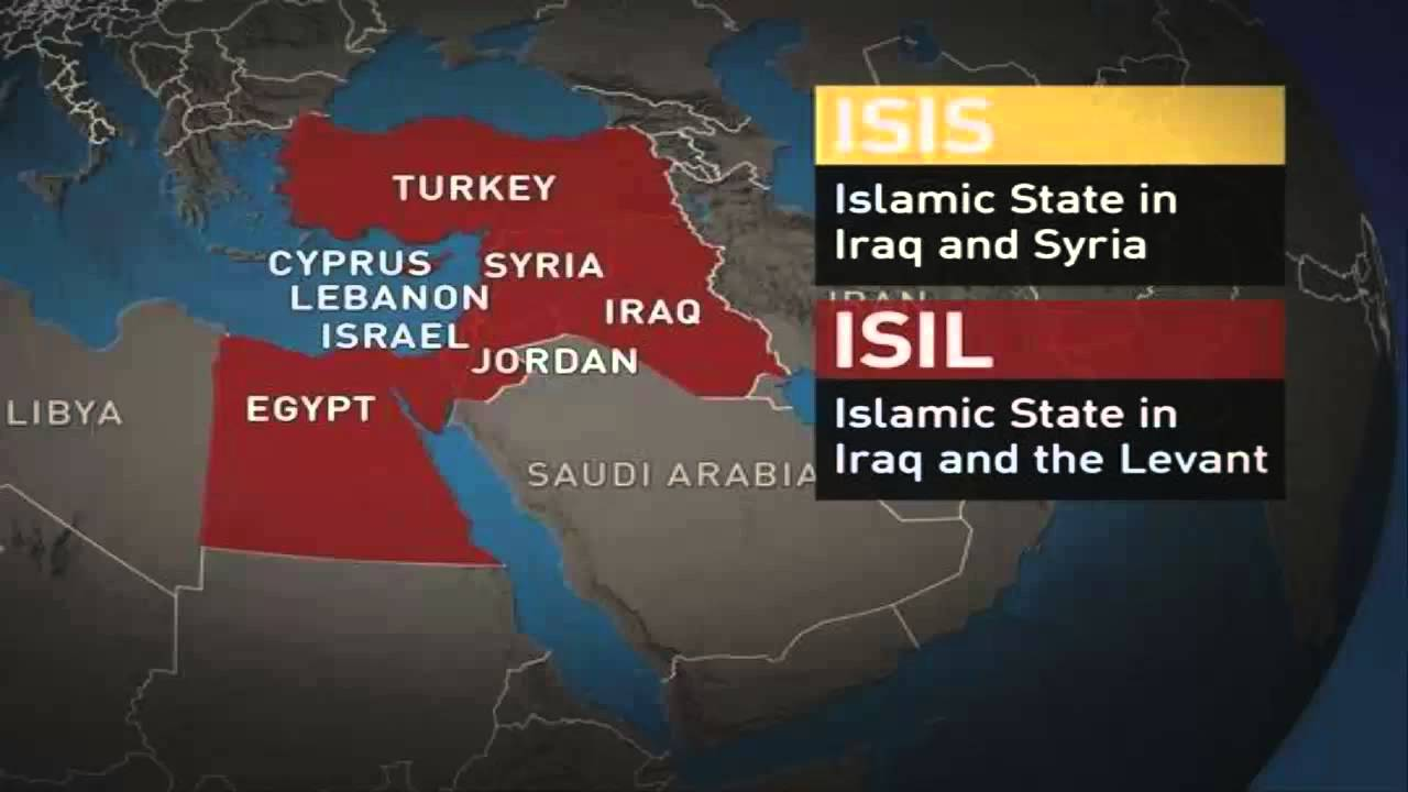 ISIS vs ISIL - what's the difference? Islamic State of Iraq and the Levant - YouTube