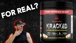 The Real DMAA Deal? 🙄 Halopharm KRACKED Pre Workout Review Thumb