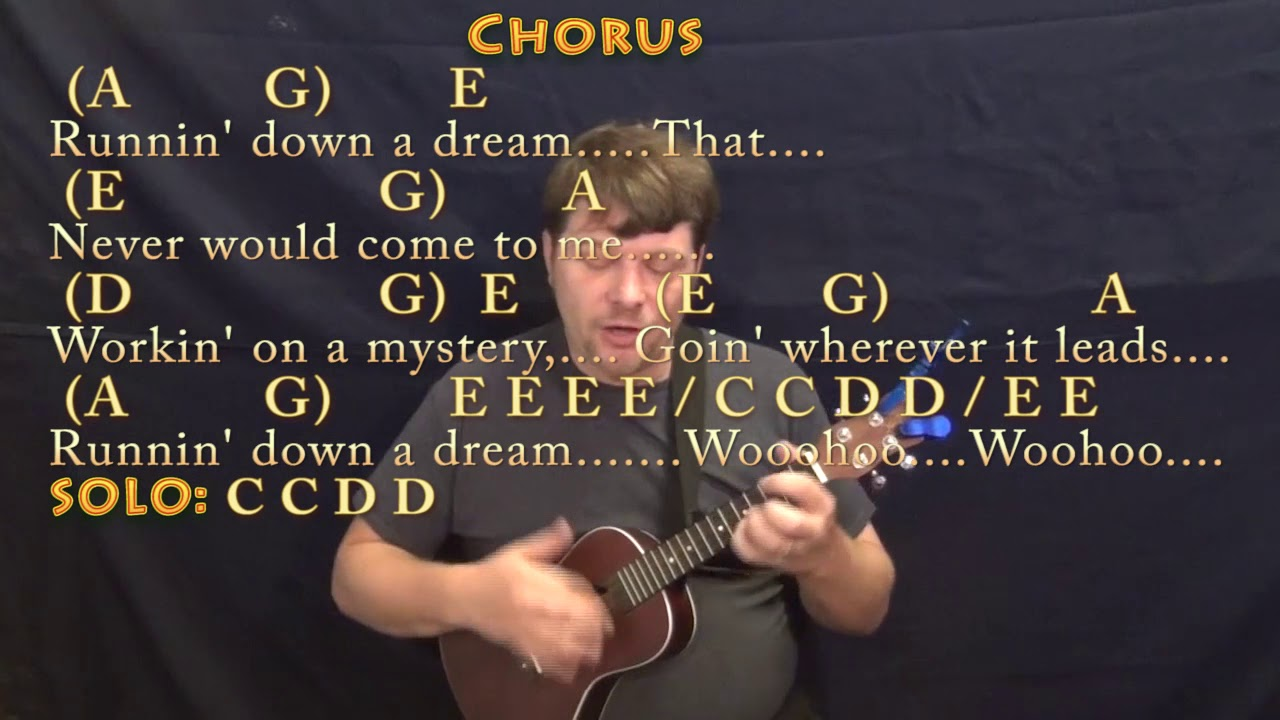 Running down a dream tom petty ukulele cover lesson with chords running down a dream tom petty ukulele cover lesson with chordslyrics hexwebz Images