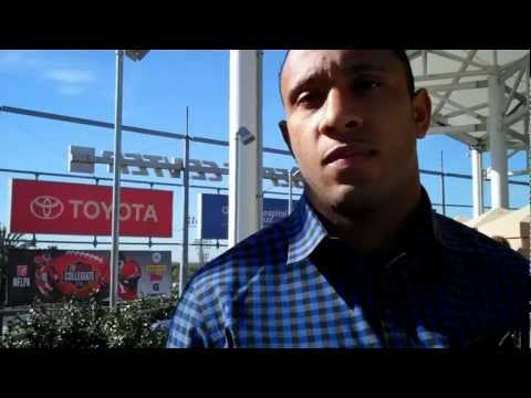 Steve Smith Talks About USC & the NFL in LA