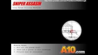 Sniper Assassin Fast Walkthrough