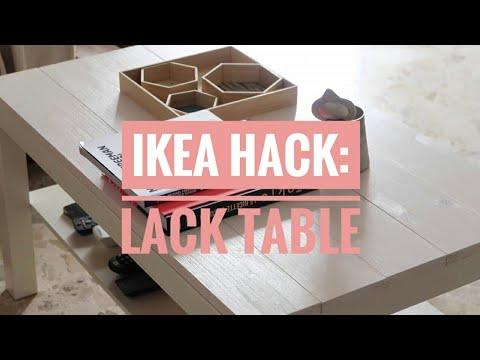 Tavolino Lack Bianco Ikea.Diy Ikea Lack Rinnovare Un Tavolino Ikea Verdewasabii