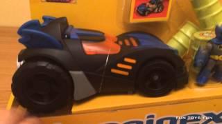 Imaginext DC Super Friends Batman and Batmobile Set - Quick Look