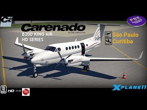 **XPLANE11**] Beechcraft King Air B200 | São Paulo ✈ Curitiba