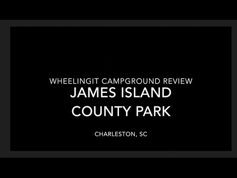 James Island County Park Campground Review