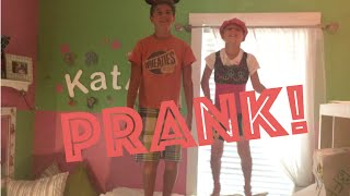 Brennan & Ryan Prank Katie While She