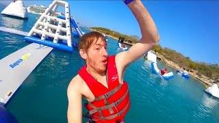 Awesome Floating Water Park!