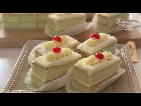 Pandan Cream Slice 班兰奶油蛋糕