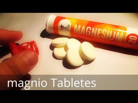 Magnesium Dr.Vitt ( Orange Flavor ) Putojančios Tablėtės Review