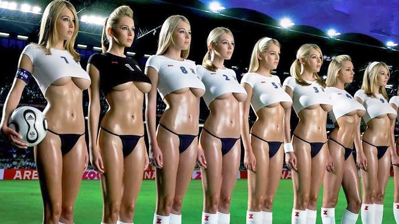 Japanese Girls Playing Soccer Totally Naked