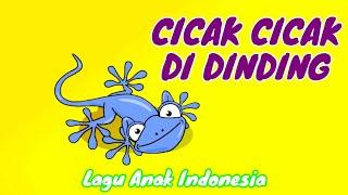 Gambar cover Cicak Cicak Di Dinding - Lagu Anak Indonesia 20 - MuHivma Music VideoS - Kartun Lucu