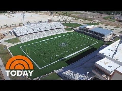 Get A First Look Inside $70 Million Texas High School Football Stadium | TODAY