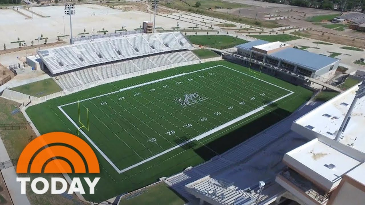 Get A First Look Inside 70 Million Texas High School Football Stadium Today Youtube