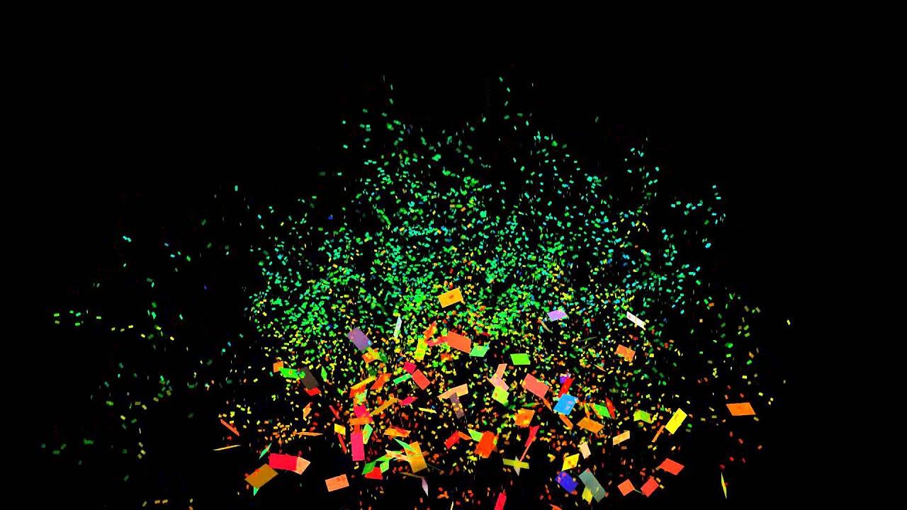 Falling Glitter Confetti Wallpapers 2 Confetti Cannon 1080p Full Hd Confetti With Black