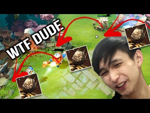 SingSing Tiny 7.07 - How to Kill Teammate with 3 Toss Dota 2
