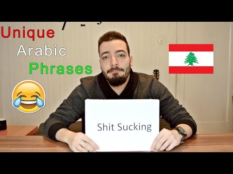 Arabic Phrases That Make No Sense In English