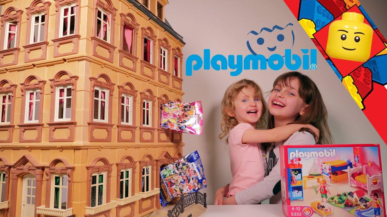 Playmobil chambre des enfants set 5333 figures - Maison du monde chambre fille ...