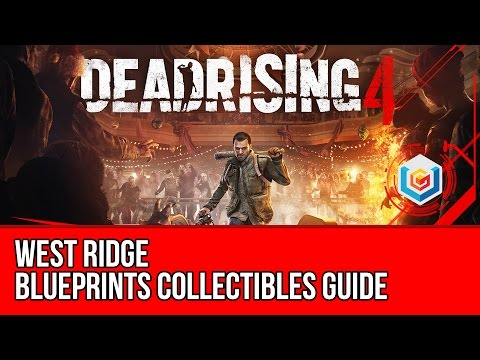 Dead Rising 4 - Blueprints Collectibles Locations Guide - West Ridge