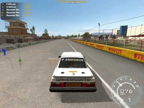 Volvo the game Volvo 240 Power ! - YouTube