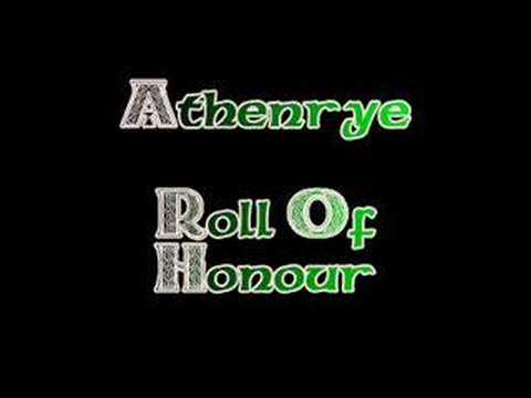 Athenrye - Roll Of Honour