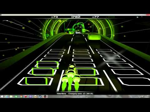 Audiosurf - Waterflame - Clownparty