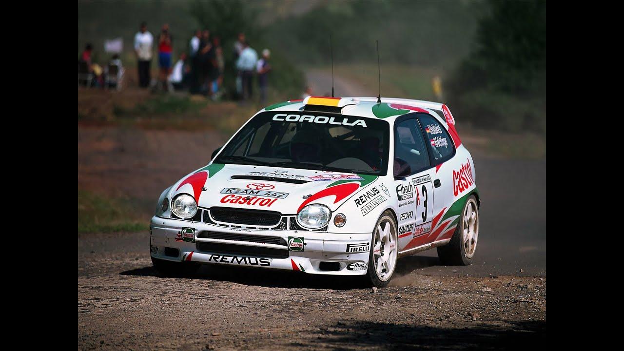 [WRC] Toyota Corolla WRC 1999 Test By Carlos Sainz pure ...