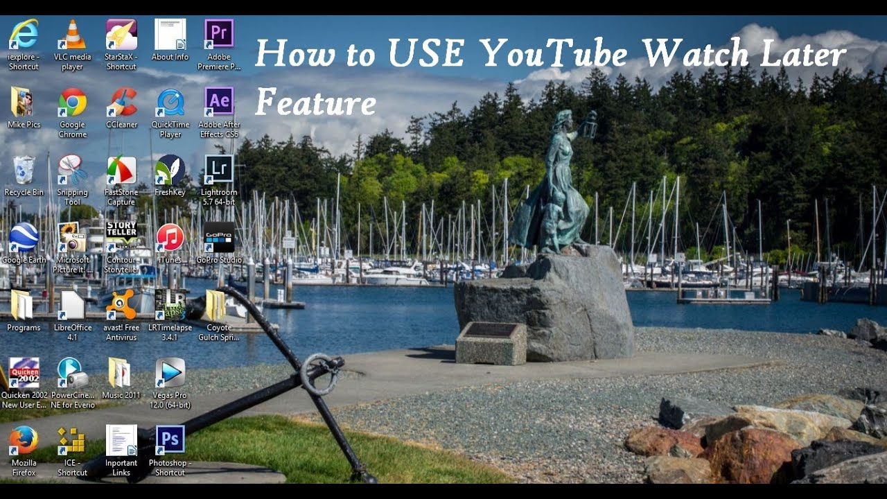 how to add youtube video to watch later