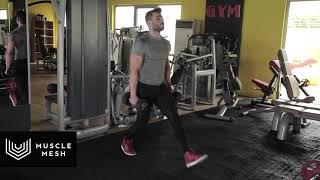 Dumbell Lunges - Musclemesh Egzersiz Hareketleri - Bacak