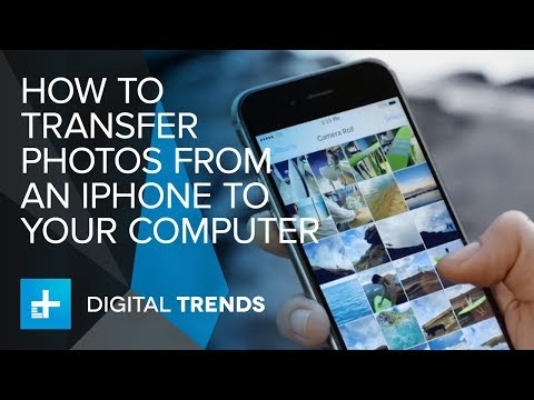 How to Transfer Photos From An iPhone To Your Computer