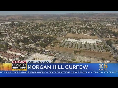 Morgan Hill Imposing Wednesday Night Pedestrian Curfew In Wake Of Power Outage