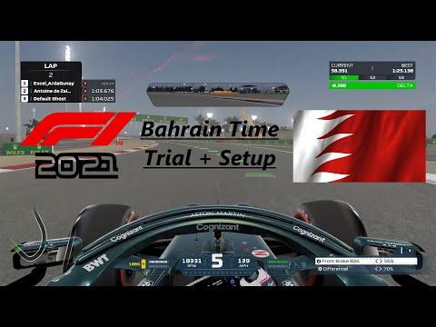F1 2021 Bahreyn (Bahrain) Time Trial + Setup (1.24.7)