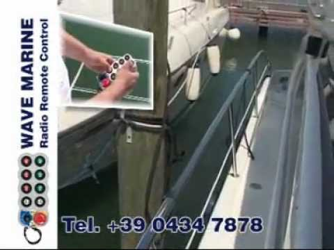 Radiocomandi per yacht Wave Marine IMET Radio Remote Control