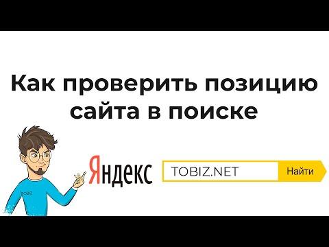 Как проверить позиции сайта в поисковых системах