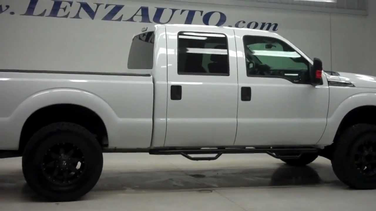 j6107 2012 ford f 250 super duty crew short xlt lift 36 497 youtube. Black Bedroom Furniture Sets. Home Design Ideas