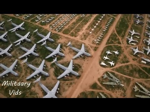 The Boneyard 5,000  military aircraft over 2,600 acre
