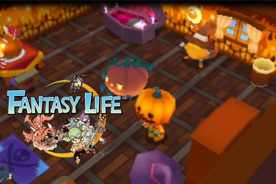 Fantasy life my room decoration furniture themes for Decoration 4 life