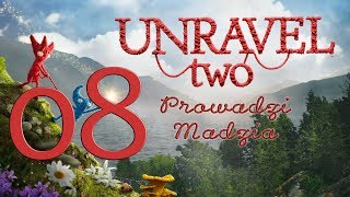 [PS4] Unravel Two #08 - Chapter 7 - At The Rapids [End]