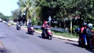 Video KYMCO COMMUNITY DEPOK TOURING TO PANGANDARAN download MP3, 3GP, MP4, WEBM, AVI, FLV November 2017