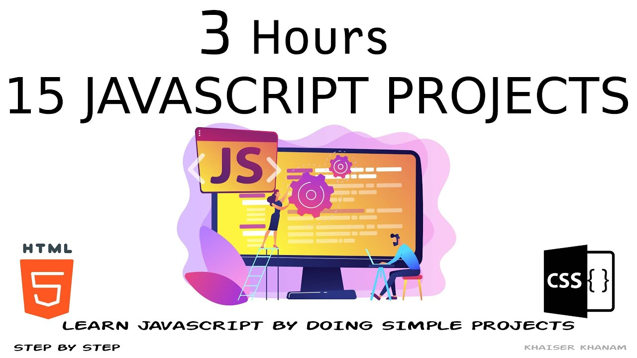 15 JavaScript Projects in 3 Hours