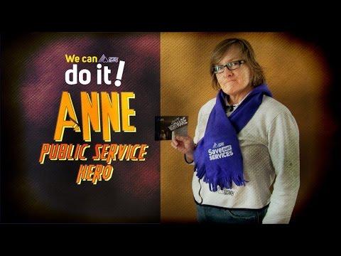 Public Service Hero - ANNE