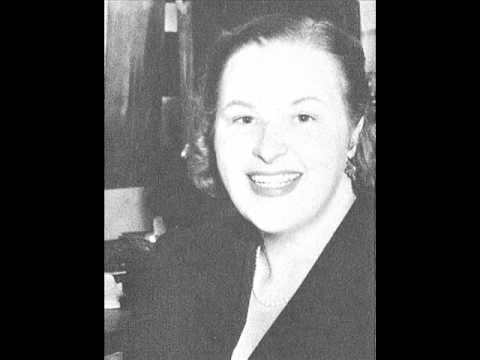 Kate Smith: Beautiful Dreamer  (with lyrics)