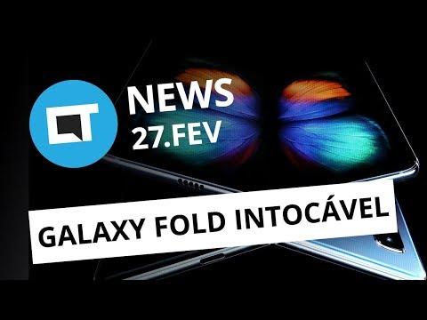 Zenfones com Android 9; Leilão do 5G; Galaxy Fold para poucos e + [CT News]