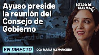 🔴 DIRECTO   Díaz Ayuso comparece tras  el Consejo de Gobierno de la CAM