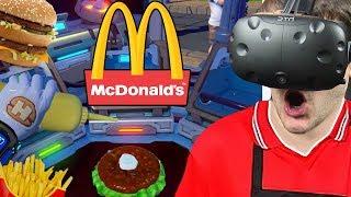 Zostałem pracownikiem McDonald's - I'm Hungry Lite (HTC VIVE VR)