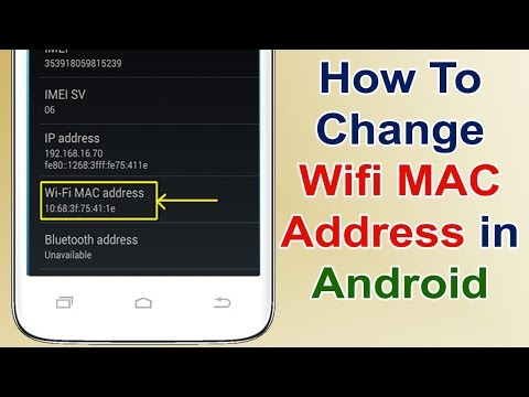 how to change wifi mac address in android without rooting