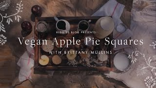 BLDG 25 Blog Presents: Vegan Apple Pie Squares